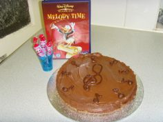 Chocolate Mousse Cake for Melody Time #disneybakes