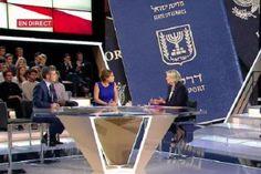 """Umberto Marabese : La Le Pen """"vuol negare il passaporto israeliano ag..."""