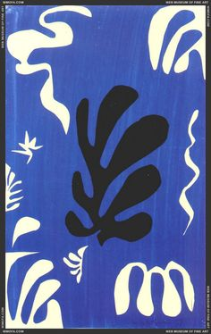 Composition on Blue Ground 1951  Matisse, Henri