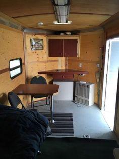 Enclosed Trailer Cabinets V Nose Trailer Cabinets