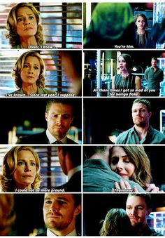 The reactions they both had to what he had been doing has been one of my favorite things in the show. They weren't hurt or angry simply for the drama value as so many other characters are when a secret is revealed to them. They were proud.