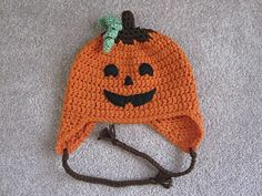 Halloween Hat Pattern - Jack