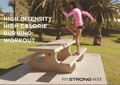 Workout Wednesday: High Calorie Burning Workout!