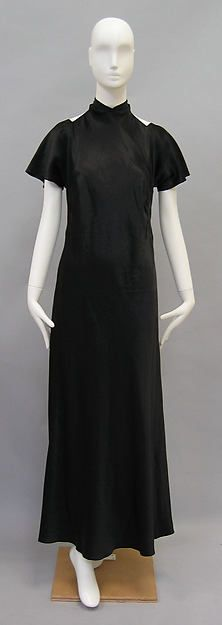 Madeleine Vionnet | Evening dress | French by Madeleine Vionnet (French, Chilleurs-aux-Bois 1876–1975 Paris)