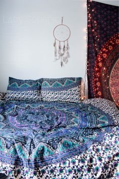 Lady Scorpio Inspire your Inner Gypsy Bohemian Mandala Tapestries || Bedroom Inspiration Www.LadyScorpio101.com