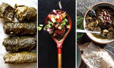 Celebrate Nowruz, the Persian new year, with a menu of traditional Iranian foods like golden-crusted rice, stuffed grape leaves, Shirazi salad and more.