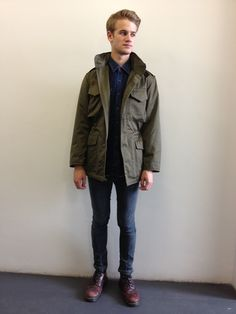 Vintage M65 army parka. Click to buy!