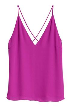 79e45e91c3c Pair with a gold Greek necklace and Hercules will be falling at your feet.  H M V-neck Camisole Top