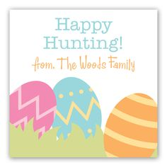 Happy Hunting Gift Tag