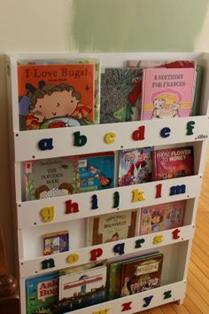 Tidy Books: Bookcase Giveaway ~ perfect for homeschooling or displaying your children's favorite books {ends 4/17} | The Happy Housewife