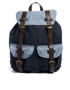 ASOS Backpack with Anchor Print