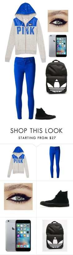 """""""school"""" by justinbiebz94 on Polyvore featuring J Brand, Converse, adidas, women's clothing, women, female, woman, misses and juniors"""
