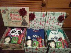 Christmas Eve Box Gift Christmas Eve Box For Adults, Night Before Christmas Box, Xmas Eve Boxes, Childrens Christmas, Toddler Christmas, Christmas Gifts For Kids, Family Christmas, Xmas Gifts, Winter Christmas