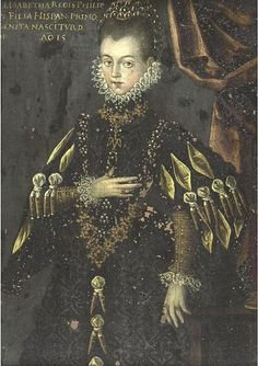 Isabella Clara Eugenia of Austria, Infanta of Spain and Portugal, Archduchess of Austria and sovereign of the Spanish Netherland and Burgundy.