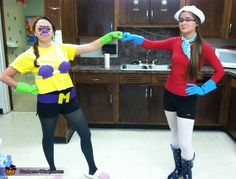 Mermaid Man and Barnacle Boy Costumes - 2012 Halloween Costume Contest