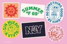 Brice Font Family by Studio Sun on Design Typography, Graphic Design Posters, Graphic Design Illustration, Graphic Design Inspiration, Retro Graphic Design, Branding And Packaging, Packaging Design, Branding Design, Logo Design