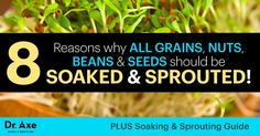 The benefits of sprouting can include digestive support, better nutrient absorption and improved metabolism.Learn how to sprout grains.