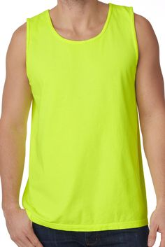 Shades of Green/Yellow Comfort Colors Cotton Tank Top #9360 *Personalize It
