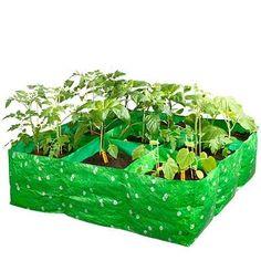 Maak en onderhoud je eigen moestuin met deze vierkante meter kweekzak van Green-Kids.