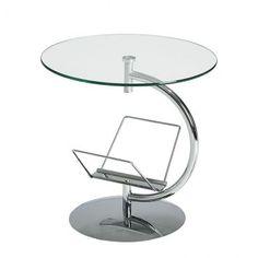 Table d'appoint & porte-magazine en 1 ! #table #rangement