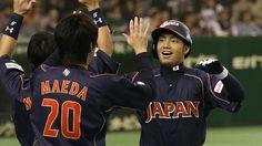 2013 03 WBC vs 台湾 9回2死1塁 鳥谷敬 決死の盗塁!
