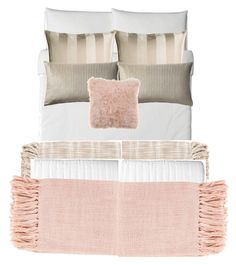 """""""Bed :)"""" by catherinekosch on Polyvore featuring interior, interiors, interior design, home, home decor, interior decorating, Bloomingville, Surya and Bandhini Homewear Design"""