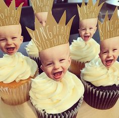 Where the Wild Things Are Cupcake Toppers King by kjoyeldridgeshop