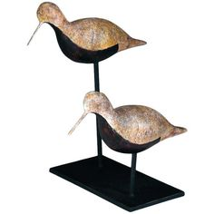 I pinned this Shore Bird Statuette from the Winter by the Water event at Joss and Main!