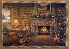 casa navideña - Buscar con Google