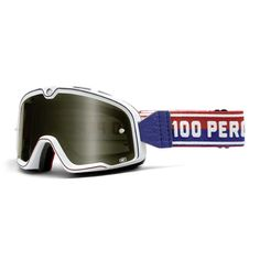 100 Barstow Classic Motorcycle Goggles - White | Goggles and Visors | FREE UK delivery - The Cafe Racer