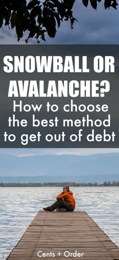What's the best debt repayment method? Find out how to determine if the snowball or avalanche method is the right debt payoff option for you. Getting out of debt is so much easier when you have a plan to pay off your debts!