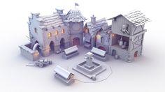 ArtStation - Iso-House student project (AO Renders), Shashank Mehta