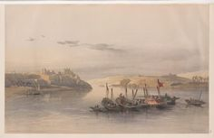General view of Esouan [sic] and the Island of Elephantine by David Roberts