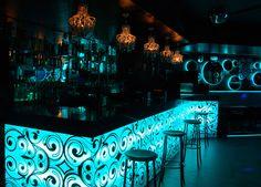 Dise o club nocturno iluminaci n club nocturno dise o - Ozona discoteca madrid ...