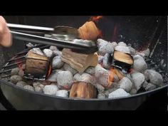 How to use BBQ Wood Chunks - YouTube. Wood cutting season is getting closer. I'm sick of paying for charcoal...