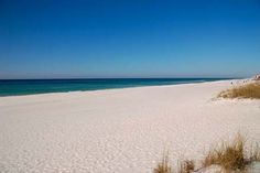 Now that is a beach! Sugar white sand found only in Panama City Beach!