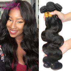 Brazilian Virgin Hair Body Wave 4 Bundles Human Hair Weave MOBB Hair Products Unprocessed Virgin Brazilian Body Wave Hair Weft >>> Khotite dopolnitel'nuyu informatsiyu? Nazhmite na izobrazheniye.