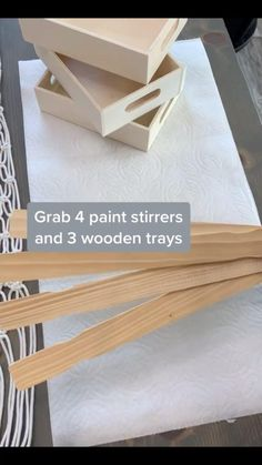 Diy Crafts For Home Decor, Diy Crafts To Do, Diy Crafts Hacks, Diy Arts And Crafts, Creative Crafts, Do It Yourself Crafts, Diy Wood Projects, Diy Projects To Try, Wood Crafts