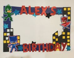 35 trendy ideas for birthday party decorations photo booths mickey mouse Pj Mask Party Decorations, Party Themes, Ideas Party, 4th Birthday Parties, 3rd Birthday, Foto Batman, Pjmask Party, Festa Pj Masks, Photo Booth Props