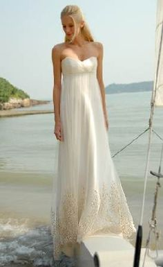 casual second wedding dresses