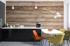 Sanded Wooden Flooring Texture Mural