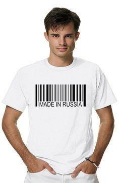 Футболка Made in Russiaиз коллекции PATRIOT пропитана настоящим духом свободы и стиля! Мужская футболка с прикольным принтом