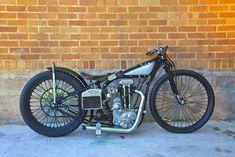 1934 Harley Davidson Peashooter - Classic American Made Motorcycles