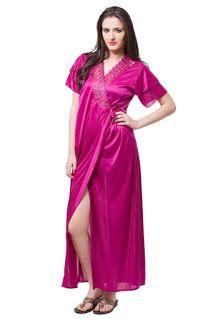 Fasense Satin Nightwear 6 Pcs Set of Nighty Robe Top Pajama Bra & Thong DP114  #Fasense #Satin #Nightwear #Nighty #Robe #Top #Pajama #Bra  #Thong   Price: INR 2,599.00 ------------------------------------- Sale: INR 1,050.00 Details ------------------------------------- You Save: INR 1,549.00 (59%)   Fasense 6 Pc Satin Nightwear Set Attractive Bridal Collection For Gifting Soft & Cozy Nightwear Slippery & Shiny Fabrics