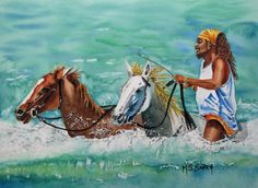 jamaican art | Jamaica Man Painting by Maria Barry - Jamaica Man Fine Art Prints and ...