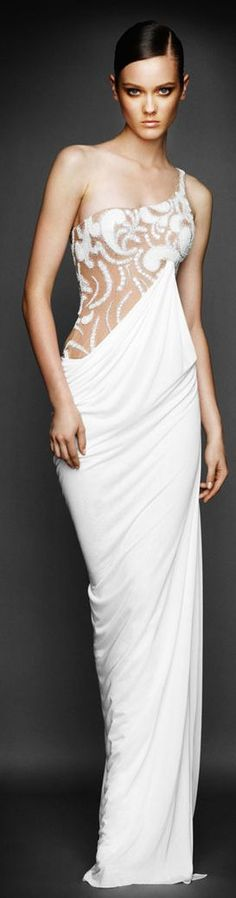 Atelier Versace Fall 2010 Lookbook | Monika Jagaciak#Repin By:Pinterest++ for iPad#