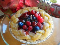 Very Berry Gel Pie Candle