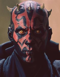 Darth Maul, Sith apprentice to Darth Sidious. The only decent thing about then phantom menace