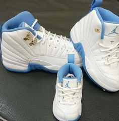 be082e4299c Air Jordan Retro 12's UNC university blue Infant Toddler Preschool Size  1C-3Y #Nike #Athletic