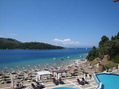 Beautiful Blue Suites hotel in Panormos bay (Πάνορμος)